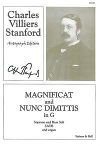 Stanford: Magnificat and Nunc Dimittis in G