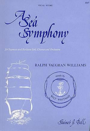 Vaughan Williams: A Sea Symphony. Vocal Score