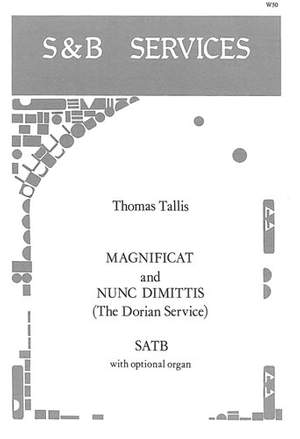 Tallis: Magnificat and Nunc Dimittis (Dorian Service)
