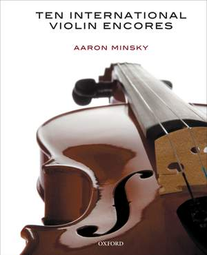 Minsky, Aaron: Ten International Violin Encores