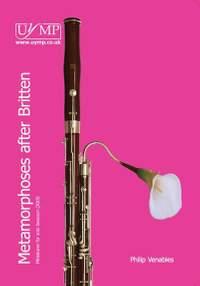 Philip Venables: Four Metamorphoses After Britten
