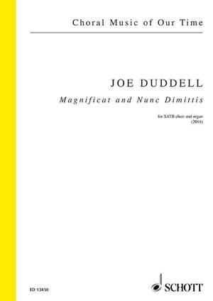 Duddell, J: Magnificat and Nunc Dimittis