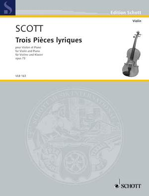 Scott, C: Three lyrical Pieces op. 73