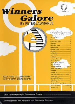 Lawrance: Winners Galore Tpt/Tbn/Euph Piano Accompaniment