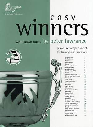 Lawrance: Easy Winners Tpt/Tbn/Euphonium Piano Accompaniment
