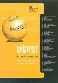 Winner Scores All Piano Accompaniment for Trumpet/Trombone