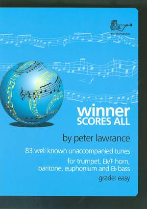 Winner Scores All for Treble Brass with CD – Trumpet