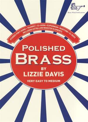 Davis: Polished Brass Treble Clef