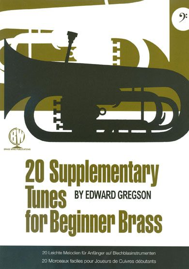 Gregson: 20 Supplementary Tunes Beg Br Bass Clef