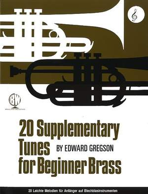 Gregson: 20 Supplementary Tunes Beg Br Treble Clef