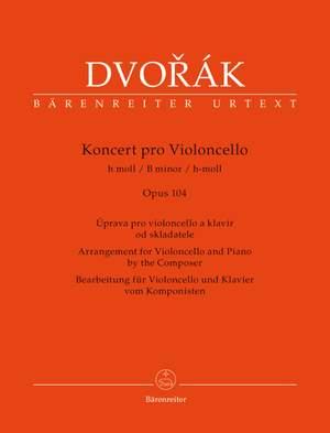 Dvorak, A: Concerto for Violoncello in B minor, Op.104 (Urtext)