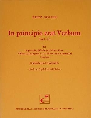 Goller: In principio erat Verbum (G-Dur)