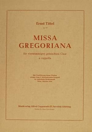 Tittel: Missa gregoriana