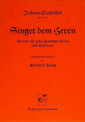 Pachelbel: Singet dem Herrn (C-Dur)