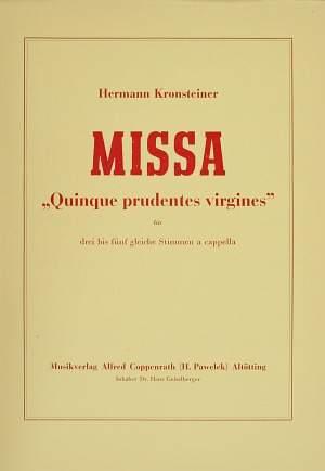 Kronsteiner: Missa
