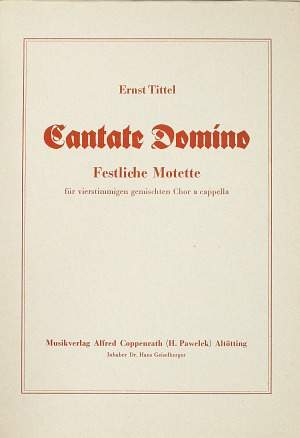 Tittel: Laudate Dominum (B flat Major)
