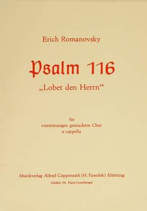 Romanovsky: Lobet den Herrn
