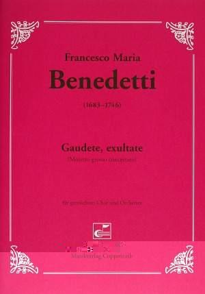 Benedetti: Gaudete, exultate (C-Dur)