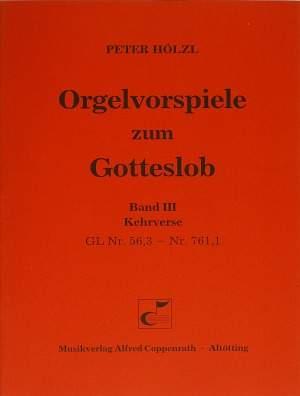 Hölzl: Orgelvorspiele zum Gotteslob III