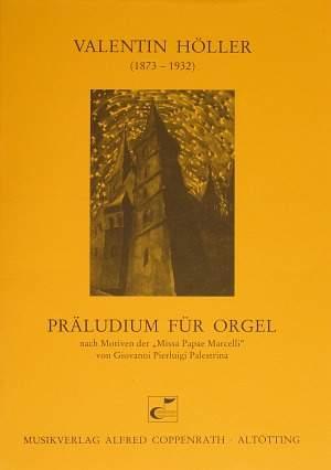 Höller: Präludium für Orgel (B-Dur)