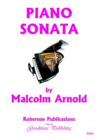Arnold M: Sonata For Piano