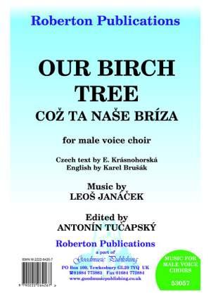 Janacek: Our Birch Tree Ed.Tucapsky Product Image
