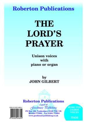 Gilbert J: Lord's Prayer Product Image