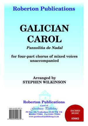 Wilkinson: Galician Carol Product Image
