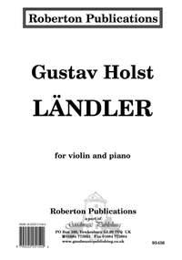 Holst: Landler