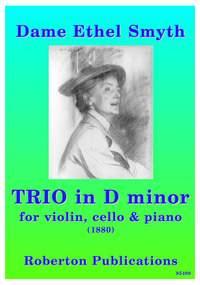 Smyth E: Trio In Dm For Violin Cello & Piano