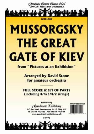 Mussorgsky M: Great Gate Of Kiev (Stone) Pack