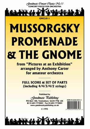 Mussorgsky M: Promenade & The Gnome (Carter) Pack
