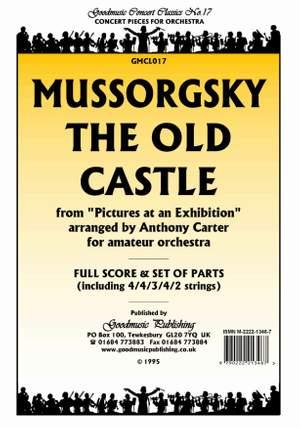 Mussorgsky M: Old Castle (Carter) Pack