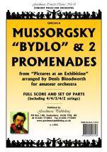 Mussorgsky M: Bydlo & Two Promenades Score