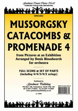 Mussorgsky M: Catacombs & Promenade 4 Pack