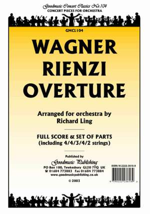 Wagner: Rienzi Overture (Arr.Ling) Pack