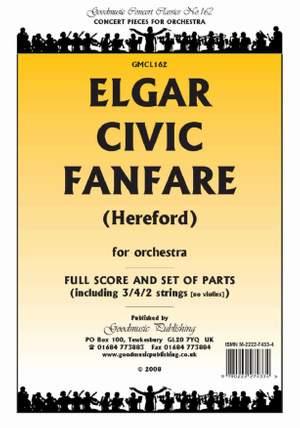 Elgar: Civic Fanfare (Hereford) Pack
