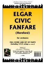 Elgar: Civic Fanfare (Hereford) A4 Score