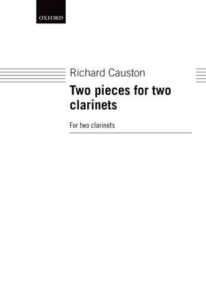 Causton R: Two Pieces For Two Clarinets