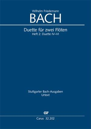 Bach W.F: Duette für zwei Flöten