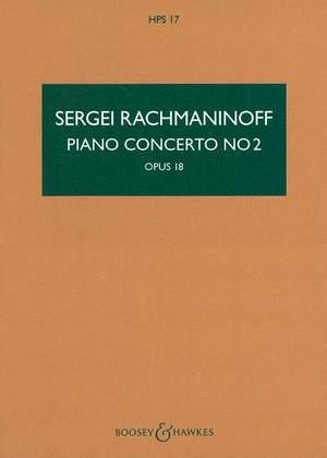 Rachmaninoff, S W: Piano Concerto No. 2 c minor op. 18  HPS 17