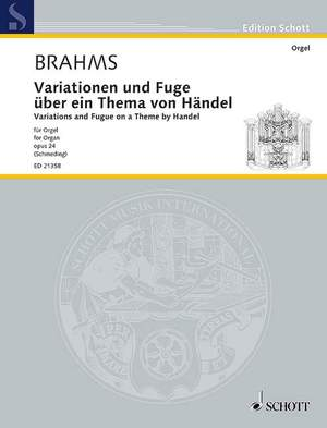 Brahms, J: Variations and Fugue on a Theme by Handel op. 24