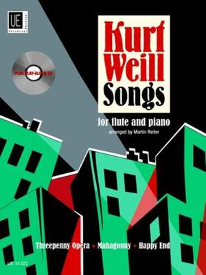 Weill, K: Songs with CD