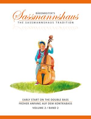 Sassmannshaus: Early Start on the Double Bass, Volume 2