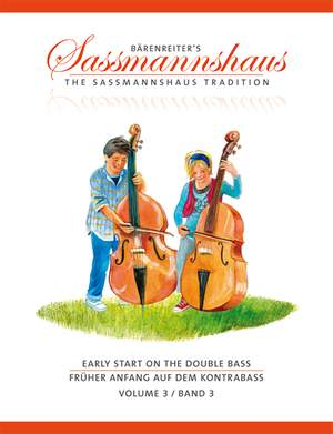 Sassmannshaus: Early Start on the Double Bass, Volume 3