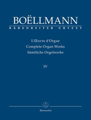 Boëllmann, Léon: Works arranged for Organ