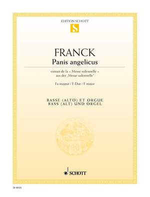 Franck, C: Panis Angelicus F major