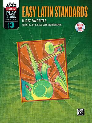 Alfred Jazz Easy Play-Along Series, Vol. 3: Easy Latin Standards