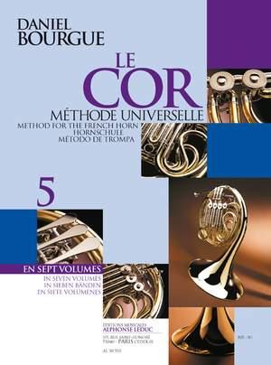 Daniel Bourgue_Bourgue: Le Cor Methode Universelle - Vol.5