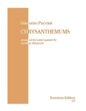 Puccini: Chrysanthemums (Crisantemi)